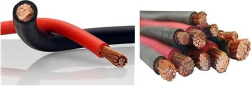 China 1/0 awg welding cable manufacturer