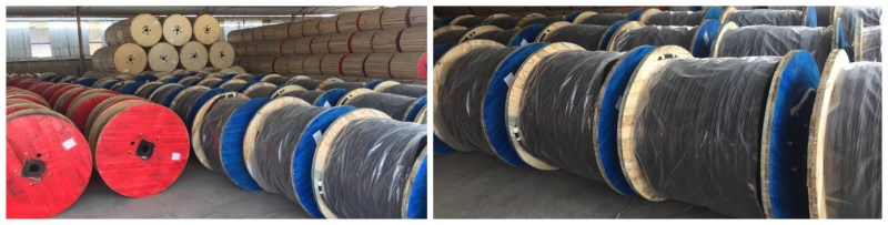 low 0.6/1kV NSHTOU Reeling Crane Cable 4C*16mm2