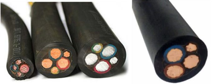 China low price tough rubber cable