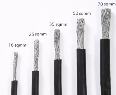 Huadong low price aluminum welding cable for sale