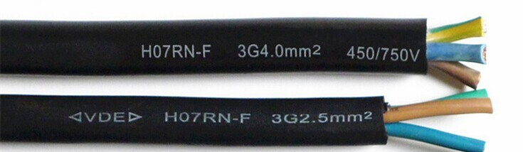 hot-sale h07rn f 3g4 cable at factory price