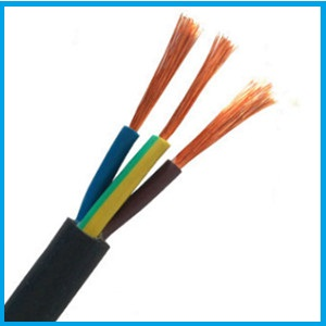 how much 3 core 4mm cabtyre wire price per meter